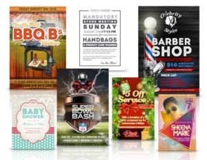 Graphic design work from The Clutch Shop, Collegeville Borough